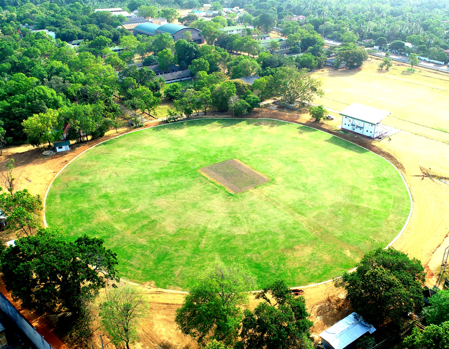 Construction of Cricket Ground for Royal College at Polonnaruwa