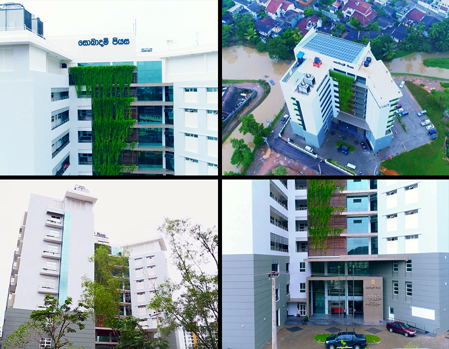 Design and Construction of National Environmental Secretariat for Ministry of Environment and Mahaweli Development