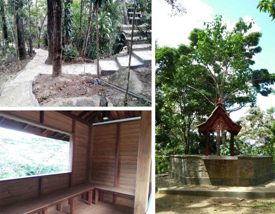 Design and construction of Facilities in the International Meditation Center at Springwood - Rakwana