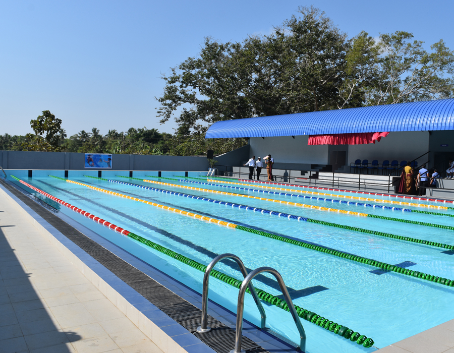 Swimming Pool and Pavilion at Ananda Balika School Higurakgoda (Stage I and II)